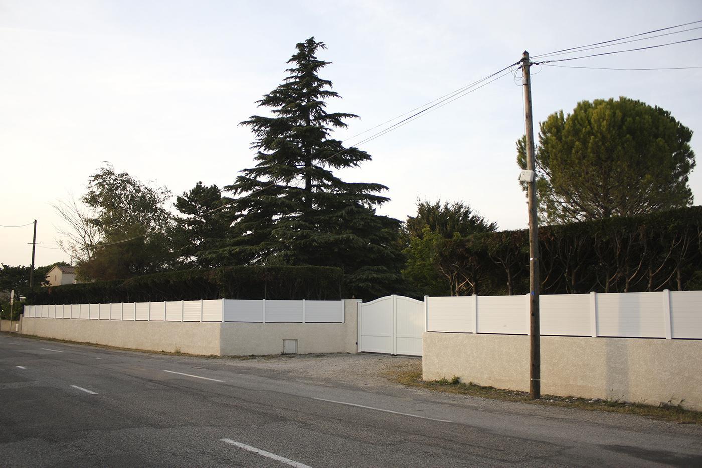 Clôture PVC
